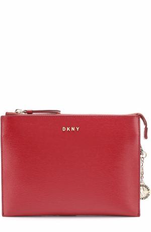Сумка Bryant Park на цепочке DKNY. Цвет: красный
