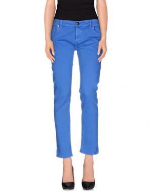 Повседневные брюки SHIELD. Цвет: синий