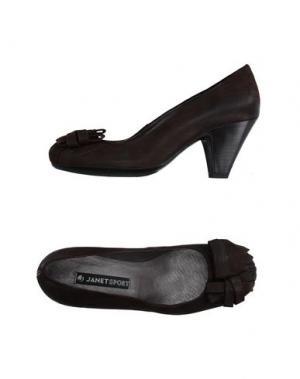 Туфли JANET SPORT. Цвет: темно-коричневый