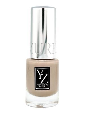 Лак для ногтей Glamour, тон 75 (серо-бежевый хамелеон) ИЛЛОЗУР. Цвет: бежевый, светло-серый