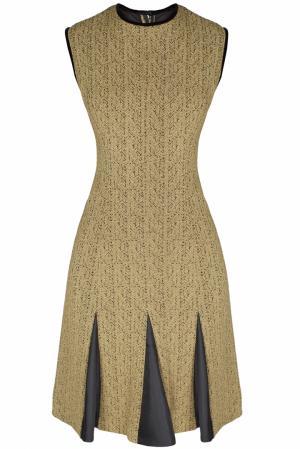 Платье из парчи (60-е гг.) Suzy Perette. Цвет: золотой, черный