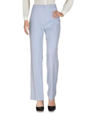 Повседневные брюки FONTANA COUTURE. Цвет: небесно-голубой