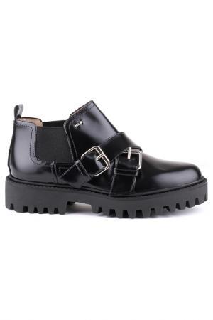 Ботинки norma j baker. Цвет: черный