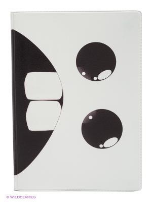Обложка для автодокументов Страшный зверь Mitya Veselkov. Цвет: белый, черный