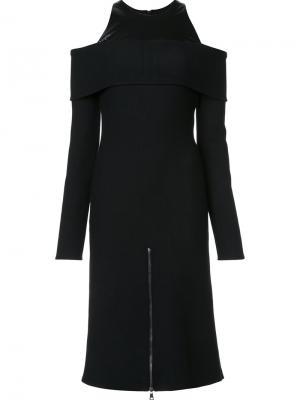 Платье Vivi Wanda Nylon. Цвет: чёрный