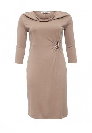 Платье Betty Barclay. Цвет: бежевый