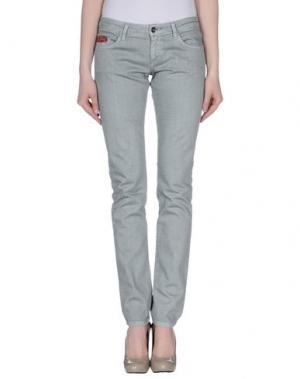 Джинсовые брюки UNLIMITED. Цвет: зеленый-милитари