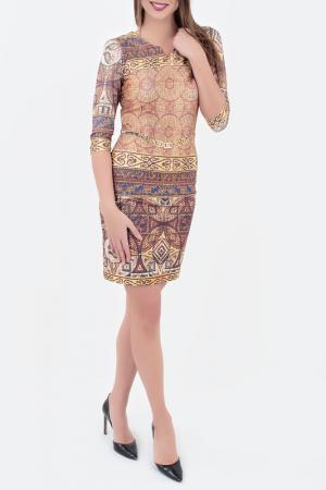 Платье Benedetta Fashion. Цвет: мультицвет