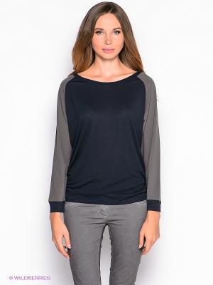 Лонгслив American Outfitters. Цвет: темно-синий, серый