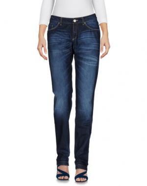 Джинсовые брюки 19.70 NINETEEN SEVENTY. Цвет: синий