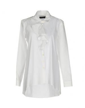 Pубашка FABRIZIO LENZI. Цвет: белый