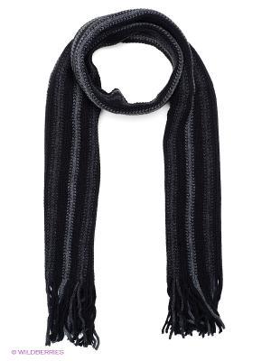 Шарф FOMAS. Цвет: черный, серый