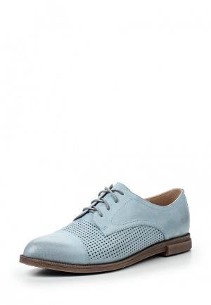 Ботинки Evita. Цвет: голубой