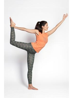 Майка женская Мантра yogadress. Цвет: оранжевый