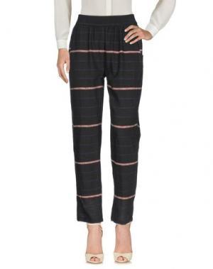 Повседневные брюки LOCAL APPAREL. Цвет: стальной серый
