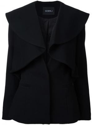 Многослойный пиджак Goen.J. Цвет: чёрный