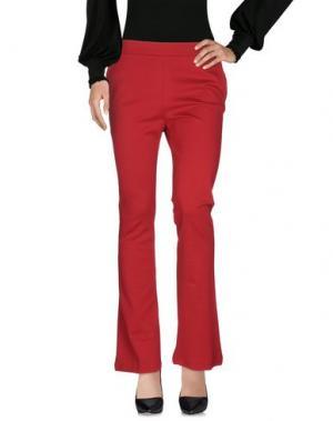 Повседневные брюки GUARDAROBA by ANIYE. Цвет: красный