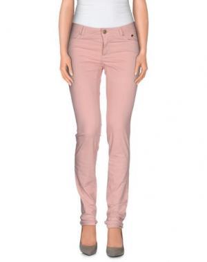 Повседневные брюки SIVIGLIA. Цвет: розовый