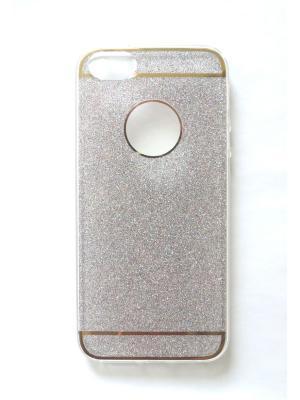 Чехол для Iphone 5/ 5S Punta. Цвет: серебристый,бледно-розовый,прозрачный,золотистый
