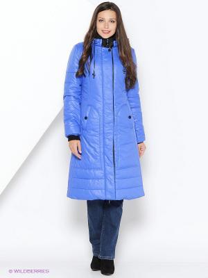 Пальто DizzyWay. Цвет: индиго