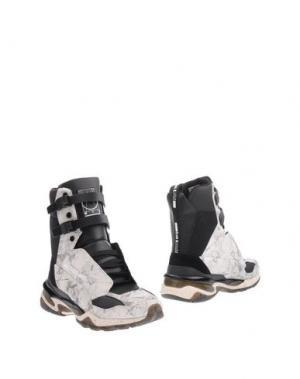 Полусапоги и высокие ботинки McQ PUMA. Цвет: белый