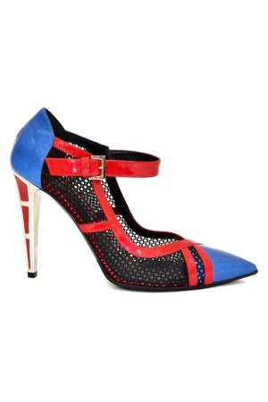 Туфли Norma J. Baker. Цвет: сине-красный