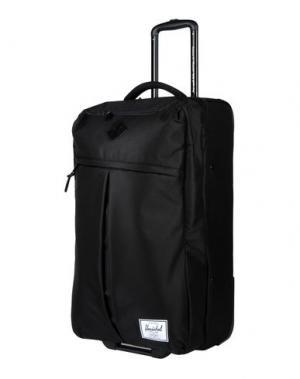 Чемодан/сумка на колесиках THE HERSCHEL SUPPLY CO. BRAND. Цвет: черный