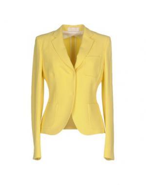 Пиджак MANTÙ. Цвет: желтый