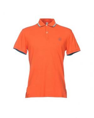 Поло ITALIAN RUGBY STYLE. Цвет: оранжевый