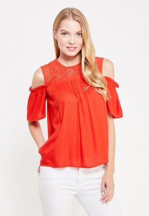 Блуза Dorothy Perkins. Цвет: красный