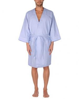 Банный халат LA PERLA. Цвет: темно-синий