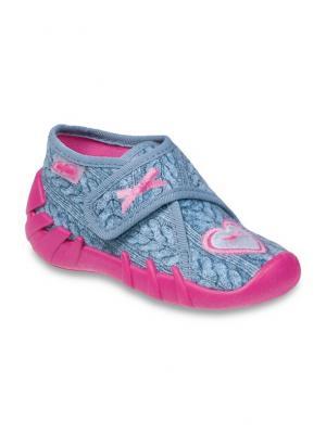 Ботинки Befado. Цвет: голубой