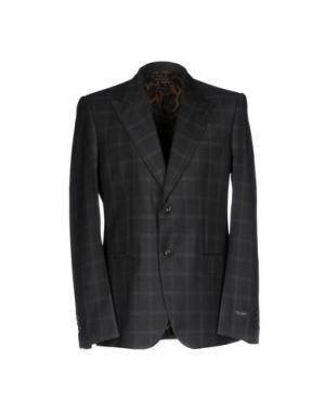 Пиджак MARC JACOBS. Цвет: стальной серый