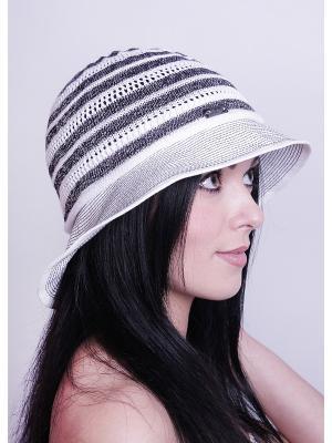 Шляпка Level Pro. Цвет: черный, белый