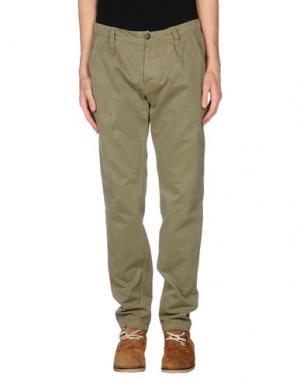 Повседневные брюки MACCHIA J. Цвет: зеленый-милитари