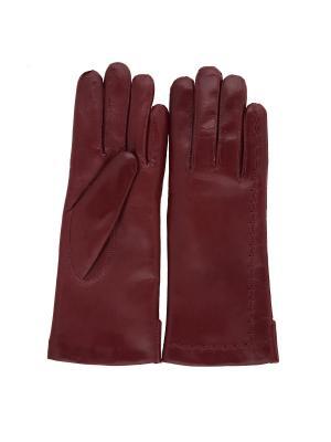 Перчатки PerstGloves. Цвет: бордовый
