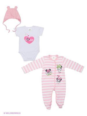 Комплект одежды PlayToday. Цвет: бледно-розовый