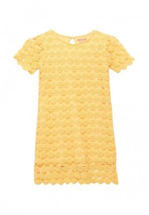 Платье Modis. Цвет: желтый