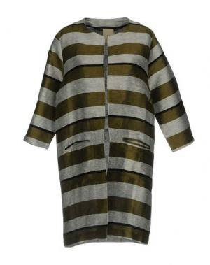 Легкое пальто JIJIL. Цвет: зеленый-милитари