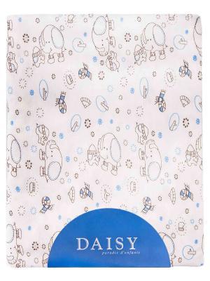 Пеленка Слонята DAISY. Цвет: светло-коричневый, бежевый, светло-бежевый