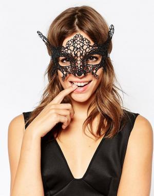 Johnny Loves Rosie Черная маска для глаз Evie. Цвет: черный