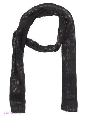 Шарф MEXX. Цвет: черный, антрацитовый, темно-серый