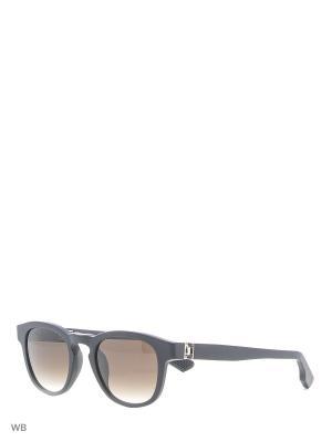 Солнцезащитные очки KT 500S 01 Kiton. Цвет: черный