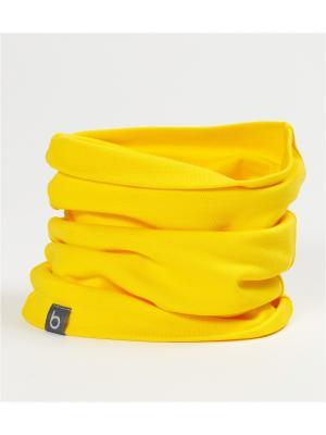 Снуд двойной BODO. Цвет: желтый