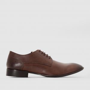 Ботинки-дерби кожаные  MORSE BASE LONDON. Цвет: черный