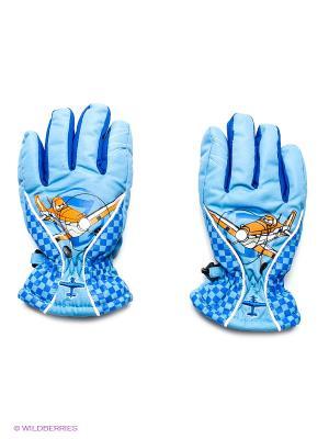Перчатки Чудо-Кроха. Цвет: голубой
