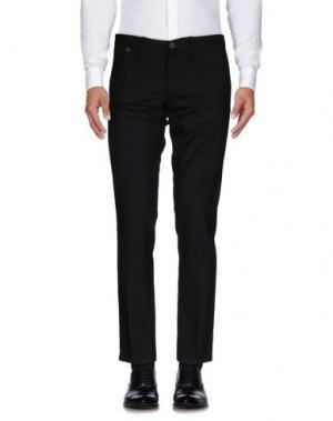 Повседневные брюки DAVID NAMAN. Цвет: черный