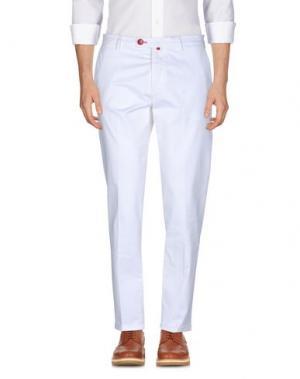 Повседневные брюки BARONIO. Цвет: белый