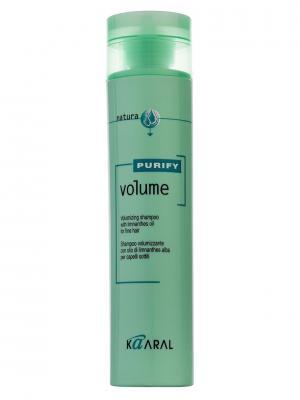 Purify Шампунь-объём для волос Volume Shampoo 250мл. Kaaral. Цвет: светло-зеленый