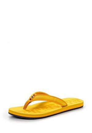 Шлепанцы Napapijri. Цвет: желтый